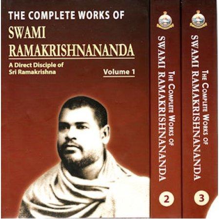 The Complete Works of Swami Ramakrishnananda - A Direct Disciple of Sri Ramakrishna - 3 volume set