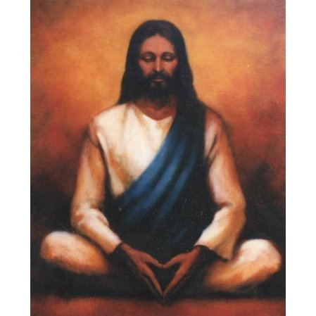 Jesus Photo TC6 (meditation pose)