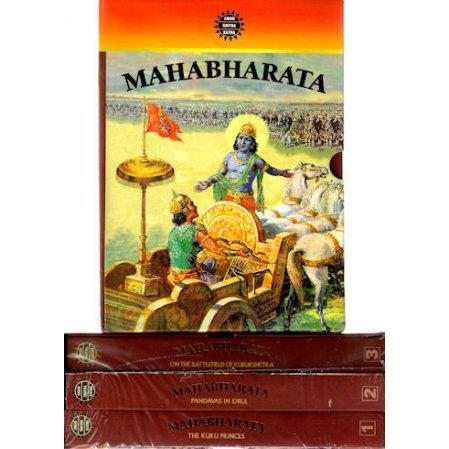 Mahabharata - 3-Volume Set (Comic)