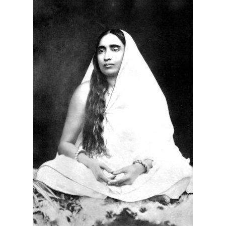 Sarada Devi photo, The Holy Mother, Shrine Pose S-1