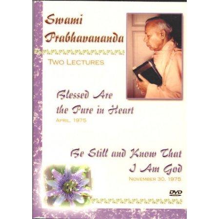 Swami Prabhavananda: Two Lectures DVD