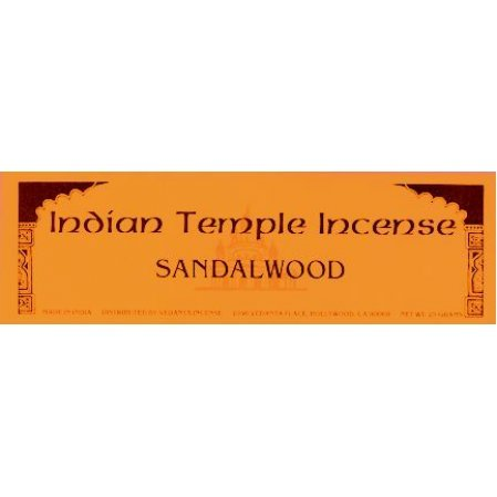 Sandalwood Classic Incense: (Indian Temple Brand)