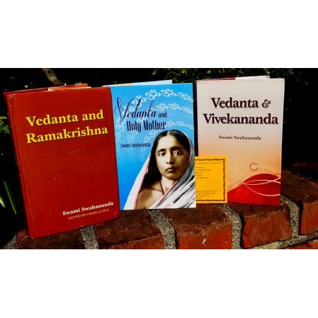 SET OF THREE BOOKS BY SW SWAHANANDA