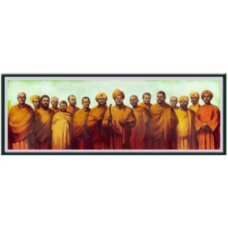 Disciples of Ramakrishna TX11 Color Photograph