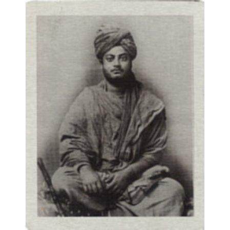 Swami Vivekananda Metal Photo as Wondering Monk