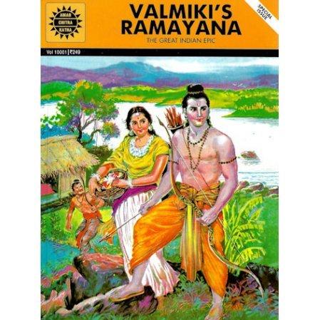 Valmiki's Ramayana Comic