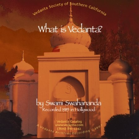 What Is Vedanta? (CD)