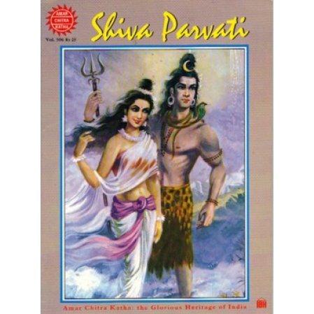 Shiva Parvati Comic