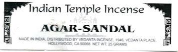 Agar Sandal Incense