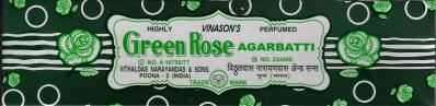 Green Rose Incense