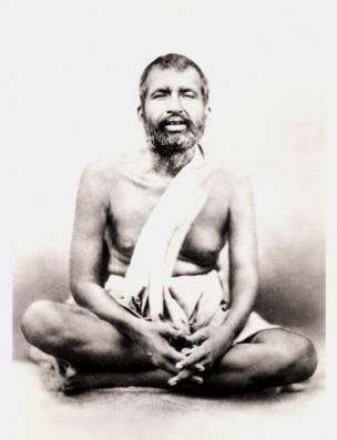Shrine Photograph of Sri Ramakrishna
