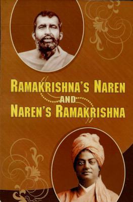 Ramakrishna's Naren and Naren's Ramakrishna