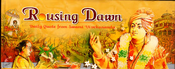 Rousing Dawn: Daily Quotes from Swami Vivekananda