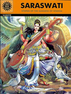 Saraswati: Stories of the Goddess of Wisdom (Comic)