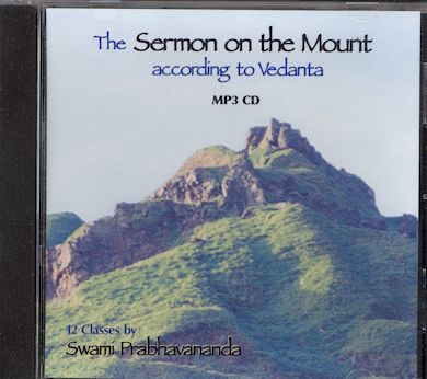 Sermon on the Mount According to Vedanta