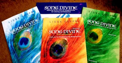 Song Divine - four different books