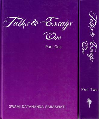Talks and Essays - Two Volume Set