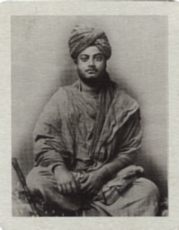 Swami Vivekananda Metal Photo as Wondering Monk