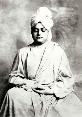 V-1 Vivekananda shrine pose photograph