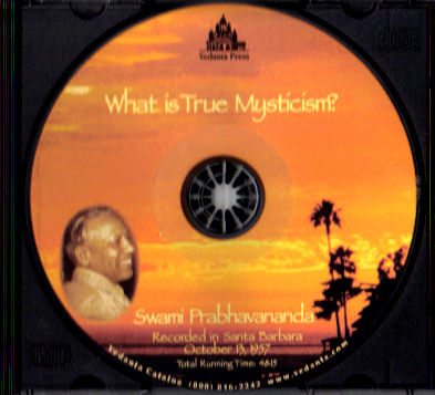 What Is True Mysticism? - CD