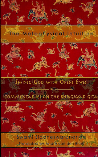 The Metaphysical Intuition: Seeing God with Open Eyes