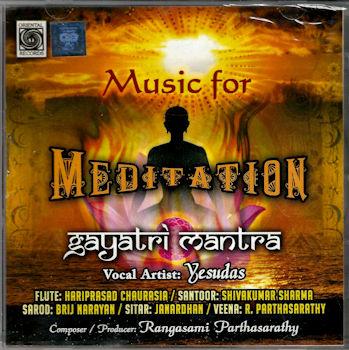Music for Meditation - CD: Gayatri mantra