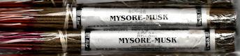 Mysore Musk Incense