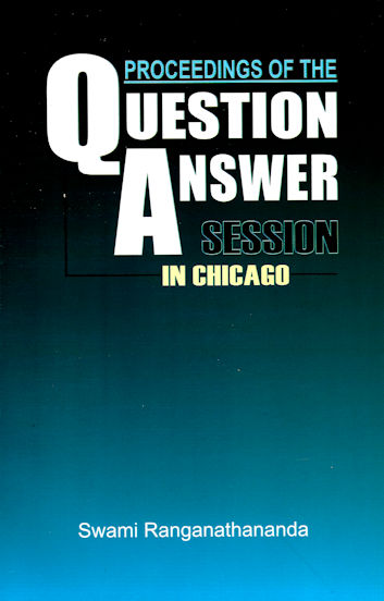 Proceedings of the Question Answer Session in Chicago