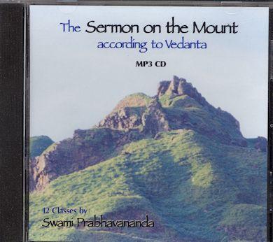 Sermon on the Mount According to Vedanta MP3 CD