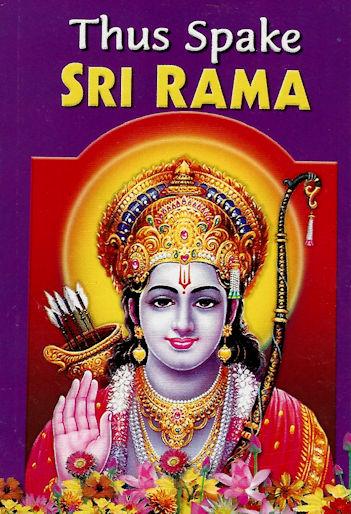 Thus Spake Sri Rama