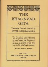 Bhagavad Gita (Nikhilananda)