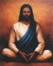 Jesus Photo TC6 (meditation pose)