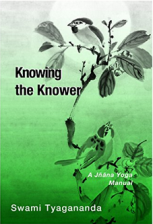 Knowing the Knower A Jnana Yoga Manual