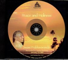 Peace and Holiness CD