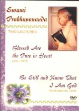 Swami Prabhavananda Two Lectures DVD