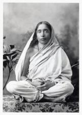S-5 Sarada Devi  seated