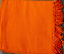 Bright Orange Shawl/Chaddar