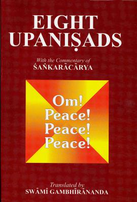 Eight Upanishads - Commentary by Shankara