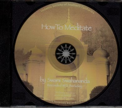How To Meditate - CD