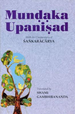 Mundaka Upanisad - With the Commentary of Sankaracarya