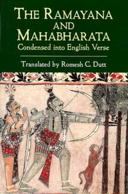 compare the mahabharata and the ramayana