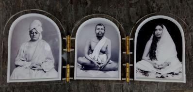 Holy Trio Triptych