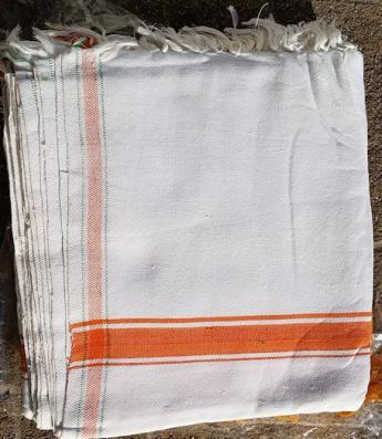 WhiteCotton shawl/chaddar